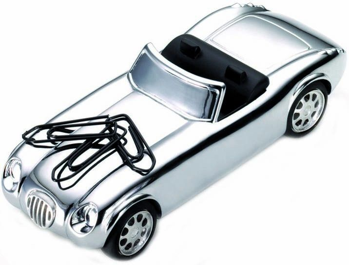 Troika Roadstar Paperweight - Silver