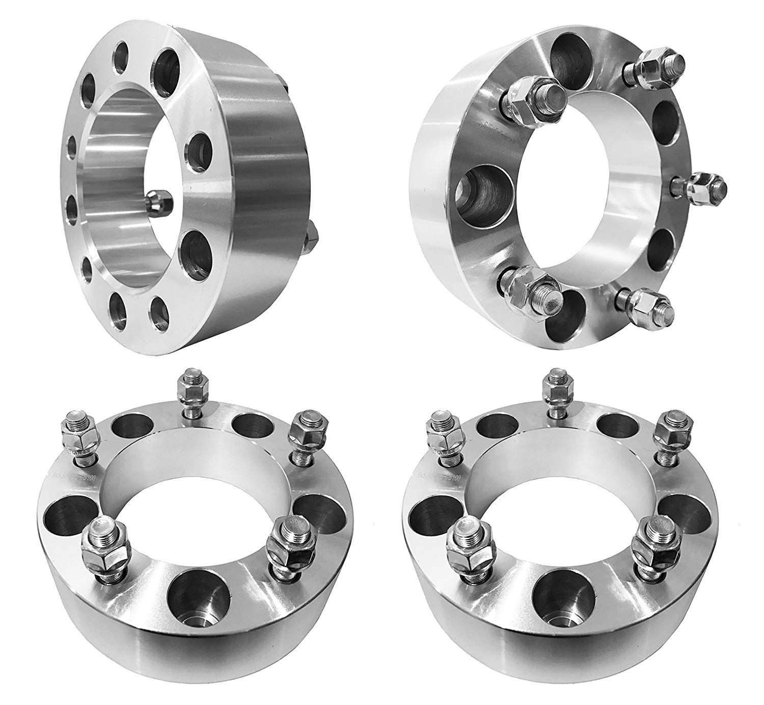 "4 hub centric spacers bolt pattern 5x4.5/"" CB 67.1mm thickness 7mm"