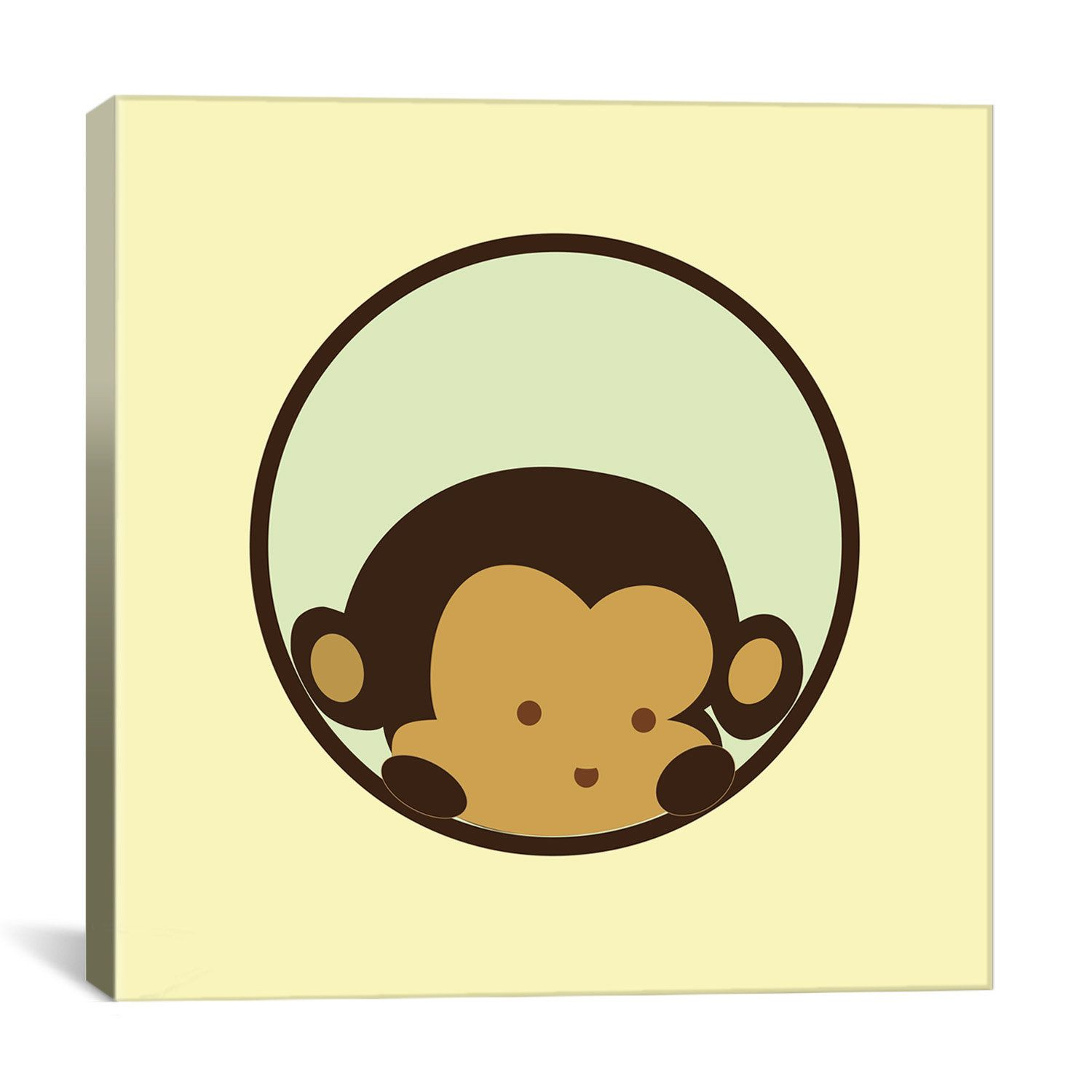 Magnificent Monkey Canvas Wall Art Adornment - All About Wallart ...