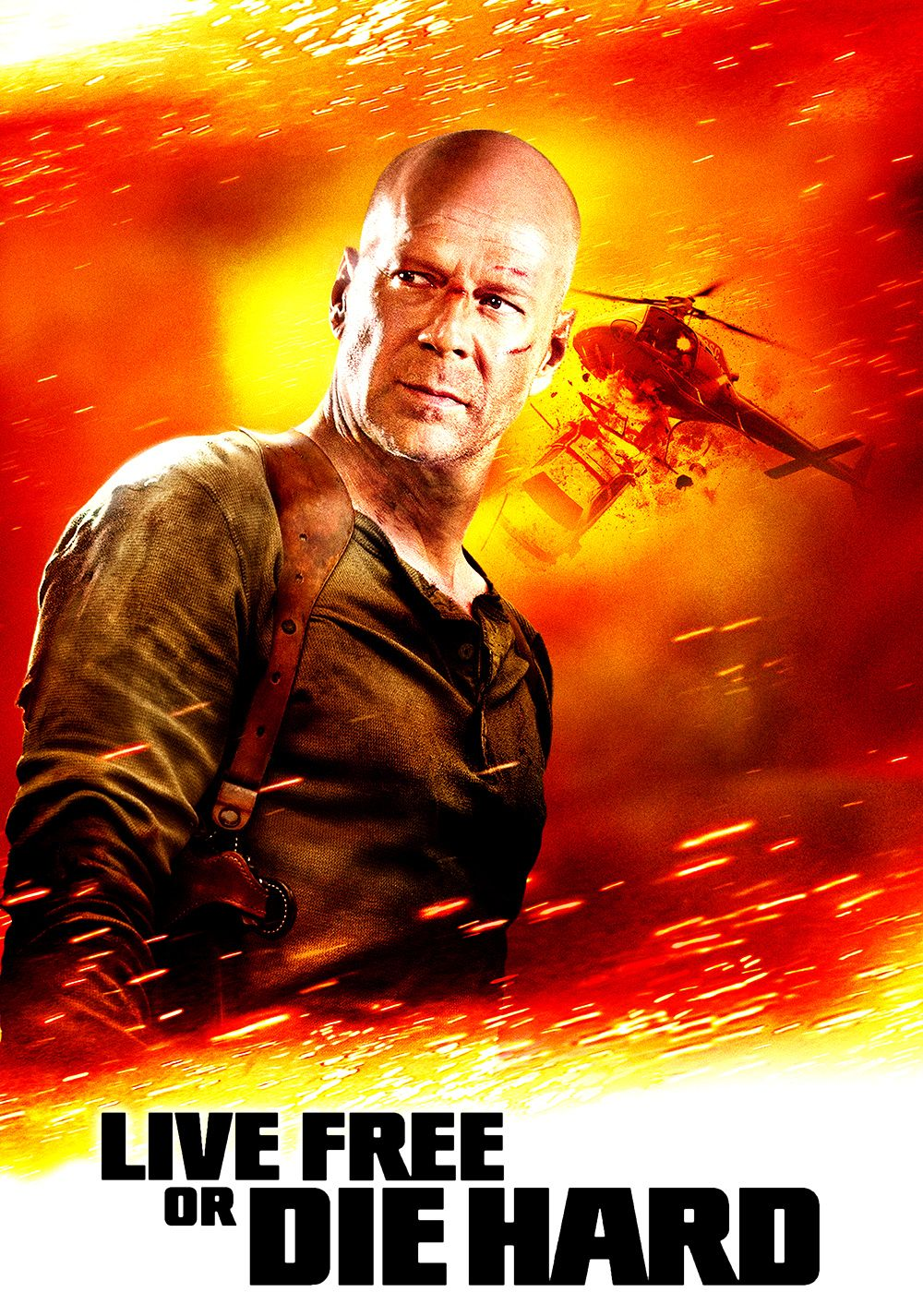 Die Hard 4 Best Movie Posters Die Hard Live Free Or Die