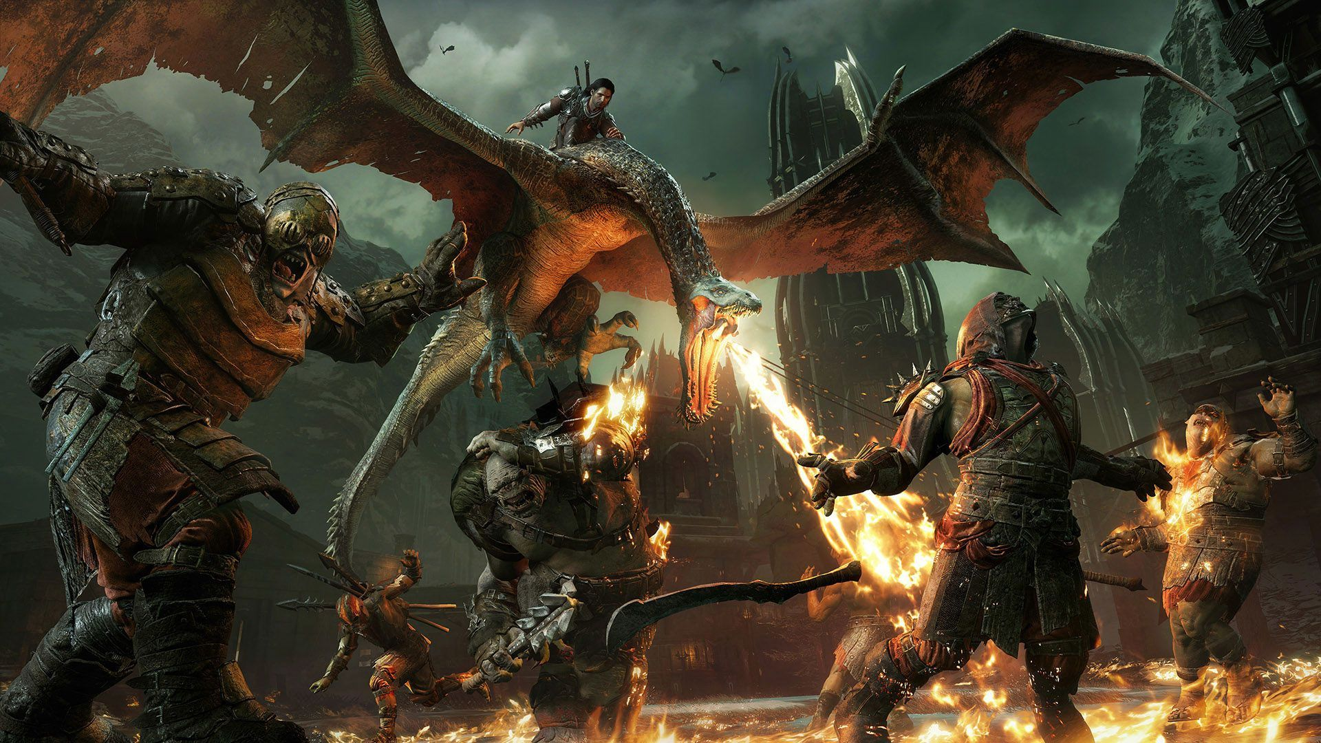 Middle Earth Shadow Of War Wallpapers In Ultra Hd 4k Middle Earth Shadow Shadow Of Mordor Middle Earth