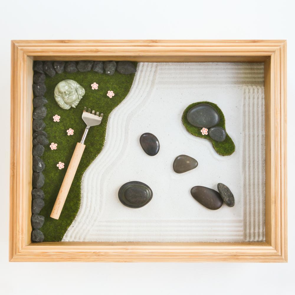 Mini Zen Garden | Zen garden diy, Mini zen garden, Zen