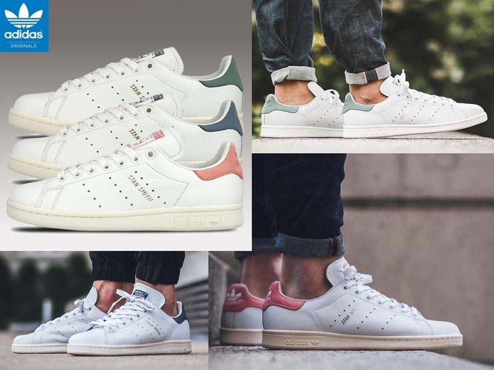 brand new c7cc2 d3380 adidas Low-Top popular ADIDAS STANSMITH S80024 S80025 S80026 22-