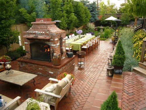 Haming Residence Denver Co Traditional Landscape Denver Ivy Street Design Oh My Word This Is Ama Traditional Landscape Backyard Beautiful Backyards