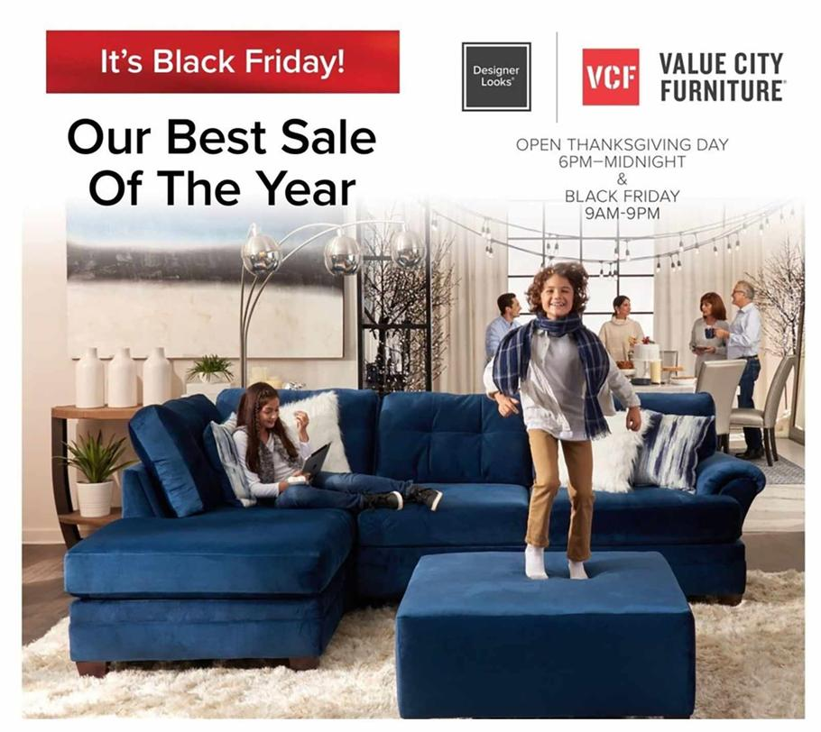 Value City Furniture 2019 Black Friday Ad Value City Furniture
