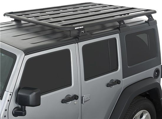 2014 Wrangler Jk Unlimited 4 Door Rhino Rack Pioneer Platform With Backbone System Wrangler Jk Jeep Jku Jeep Jk