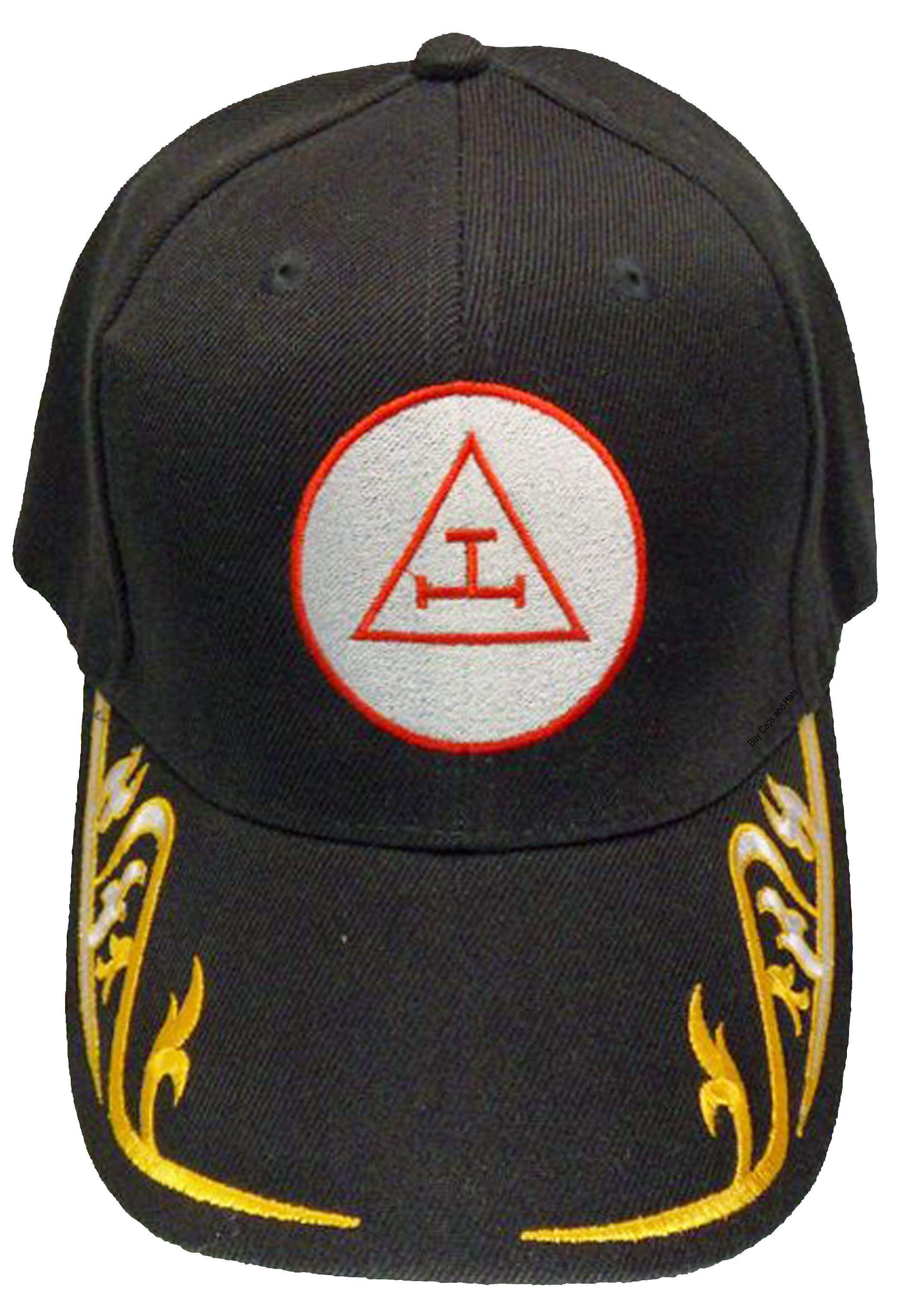 9778b130 ROYAL ARCH Mason Cap Masons Black Hat Masonic Baseball Cap   Masonic ...