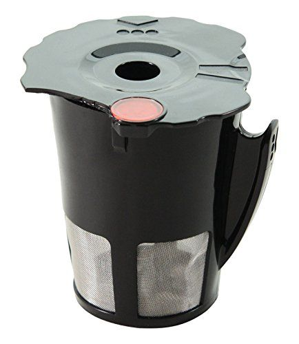 Veneto Kitchen Kcup Reusable Coffee Filter For 20 Keurig Brewers Black Small Click Image To Review More Detail With Images Reusable Coffee Filter Coffee Filters Keurig