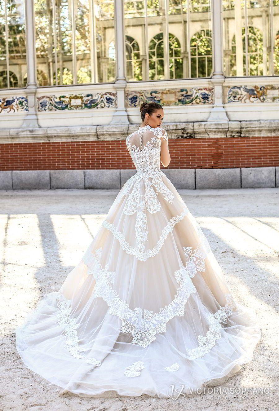 Victoria Soprano 2018 Wedding Dresses The One Bridal Collection Wedding Inspirasi Wedding Dresses Lace Wedding Dresses Dream Wedding Dresses [ 1326 x 900 Pixel ]