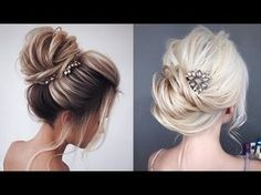 Braided Bun Updo HairStyles || Fancy Updo || How to Perfect Low Bun | Braided Bun Updo With Weave - YouTube