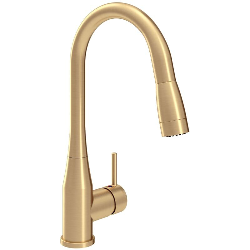 Symmons S 2302 Bbz Pd 1 5 Brushed Bronze Sereno 1 5 Gpm Single Hole Pull Down Kitchen Faucet Single Handle Kitchen Faucet Kitchen Handles Kitchen Faucet Kitchen faucet flow rate