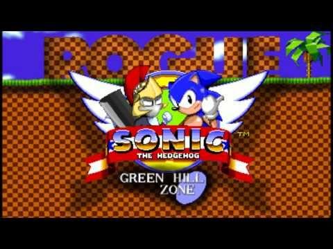 Sonic The Hedgehog Green Hill Zone Rogue Remix Sonic The Hedgehog Hedgehog Game Original Sonic The Hedgehog