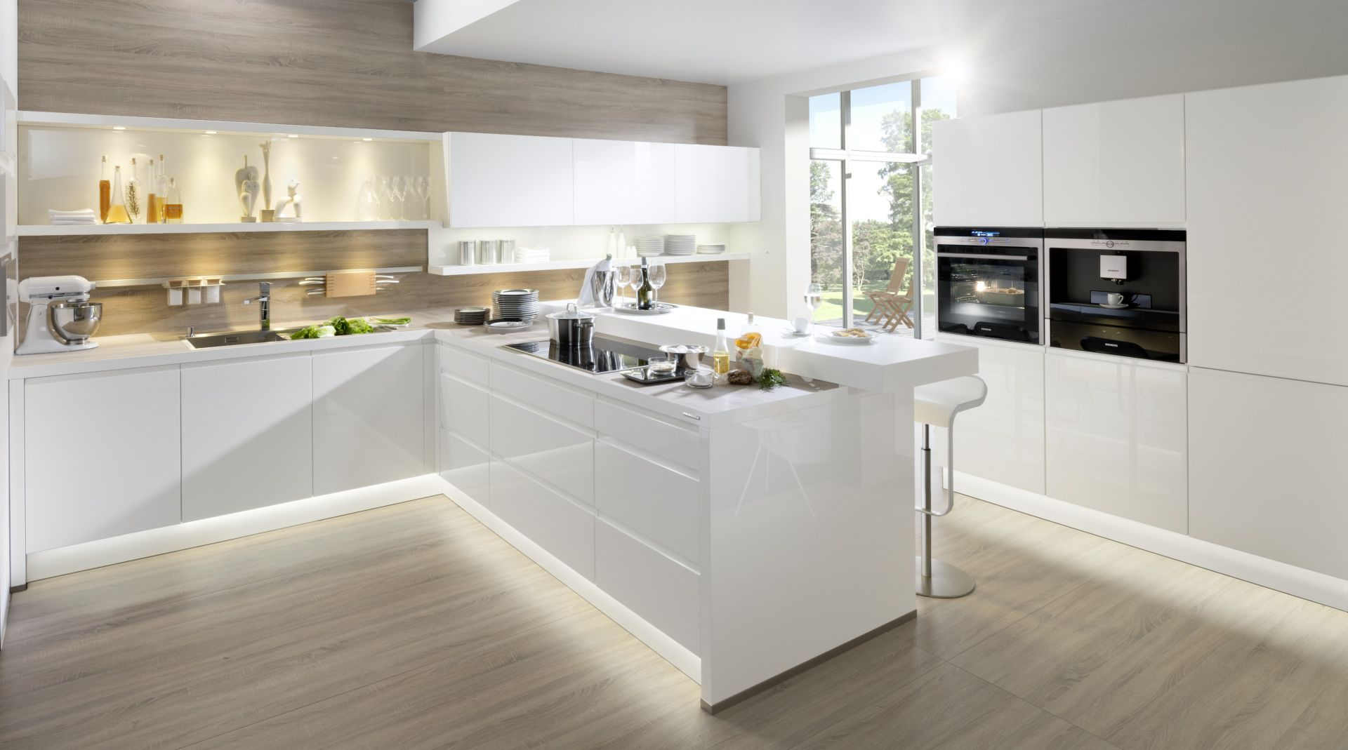 Nolte Kitchens on display at Clearly Interiors in Burnley ...