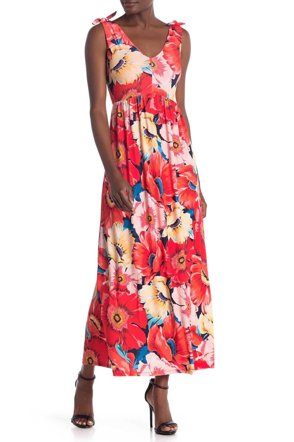 T Tahari Sleeveless V Neck Maxi Dress Is Now 70 Off Free Shipping On Orders Over 100 Dresses Maxi Dress Nordstrom Dresses [ 1800 x 1200 Pixel ]