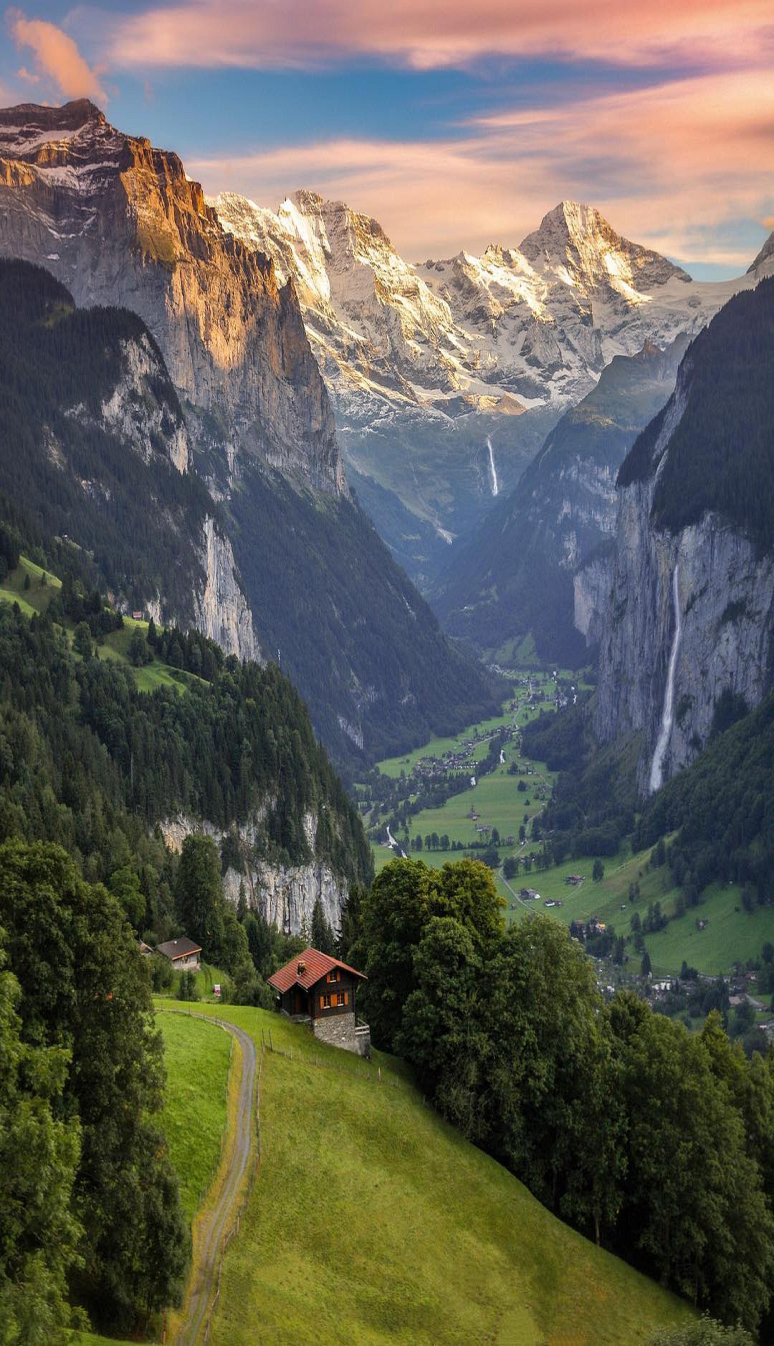 Lauterbrunnen  Berner Oberland Switzerland    L U0026 39 Oberland