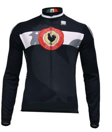 8f01aa27a Long sleeve jersey from Sportful Cycling Gallo Nero Chianti Classico. €  79