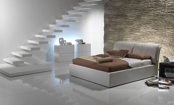 een mooi bed, simpel maar modern. | mijn droomkamer: meubels, Deco ideeën