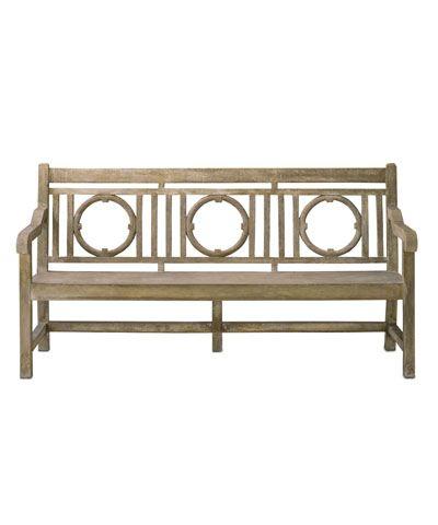 Leagrave Bench 74W Restoration hardware $1500 Cushion $225 MKE
