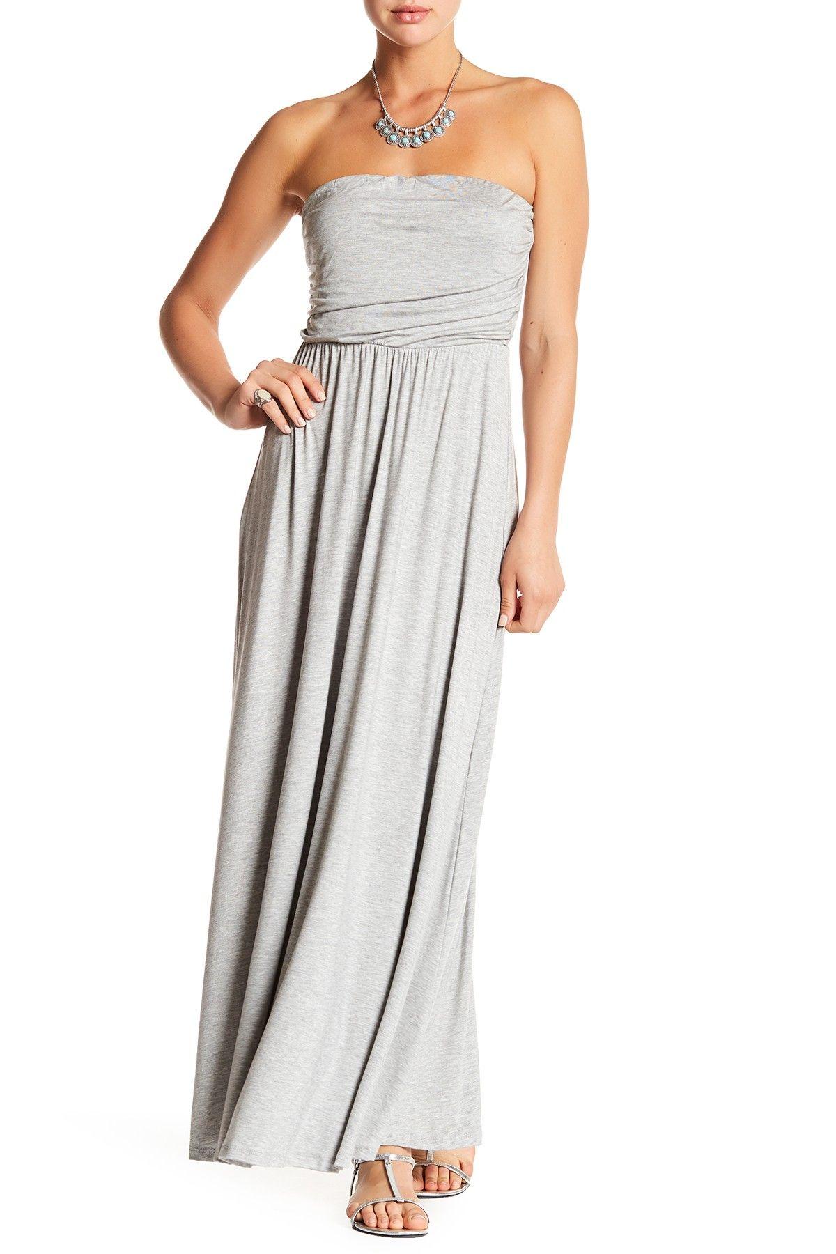 West Kei Strapless Maxi Dress Nordstrom Rack Strapless Maxi Dress Gauze Maxi Dress Maxi Dress [ 1800 x 1200 Pixel ]