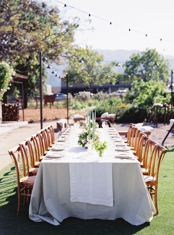 Spring Napa Valley Wedding with Floral Print Bridesmaids