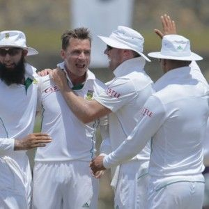 South African wrecking ball Dale Steyn tore up the script