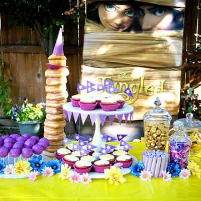 Tangled Birthday Party Food, I realize I am too old for this, but this is one of the cutest things I've every seen :)