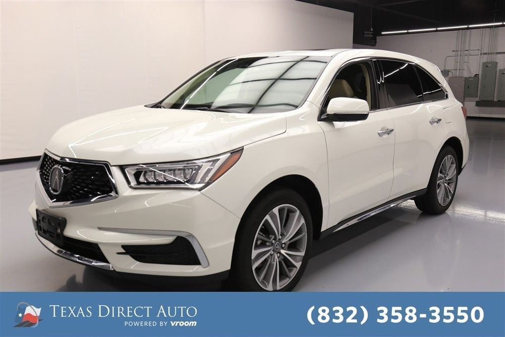 Acura MDX w/Technology Pkg Texas Direct Auto 2017 w