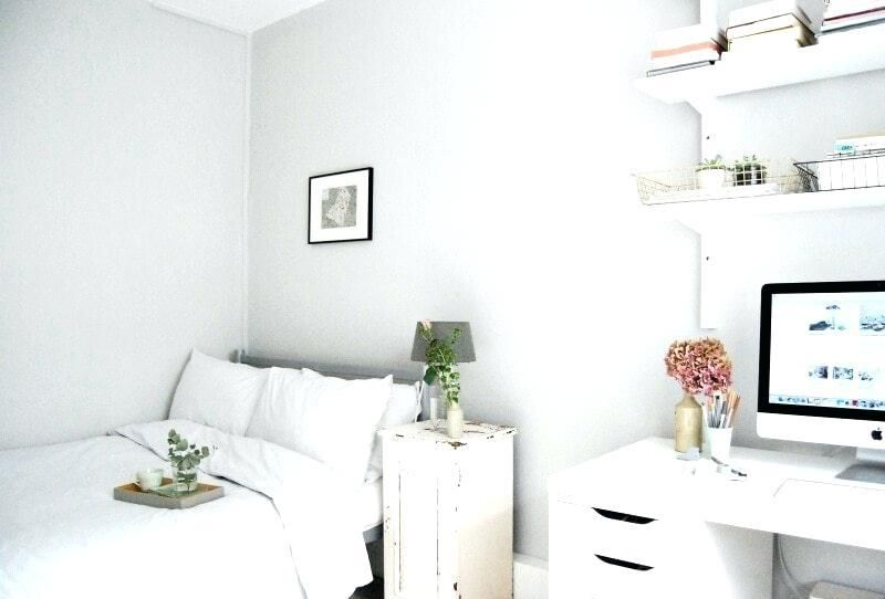 Bed Against Wall Double Bed Bed Against Wall Ideas White Home