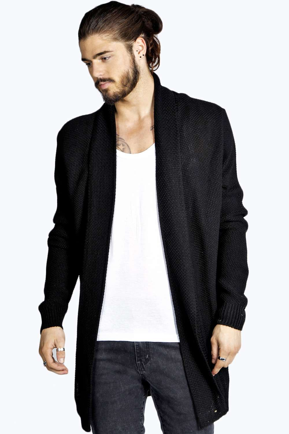 Longline Textured Cardigan | Cardigans and Alternative