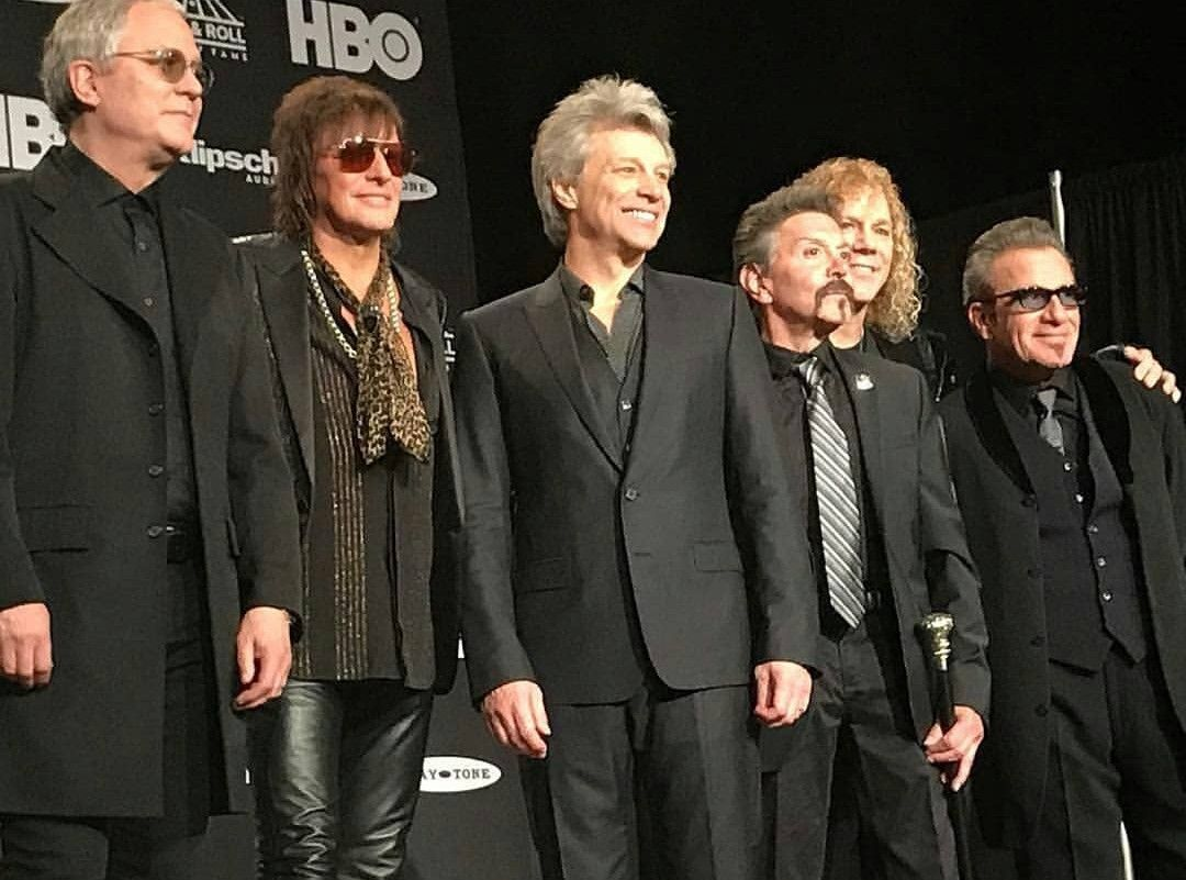 Bon Jovi Being Inducted Into The Rock And Roll Hall Of Fame In 2019 With Images Jon Bon Jovi Bon Jovi Singer