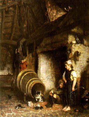 August Allebé (Dutch painter, 1838-1927)