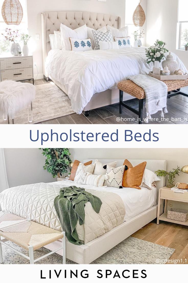 upholstered bed room ideas bedroom