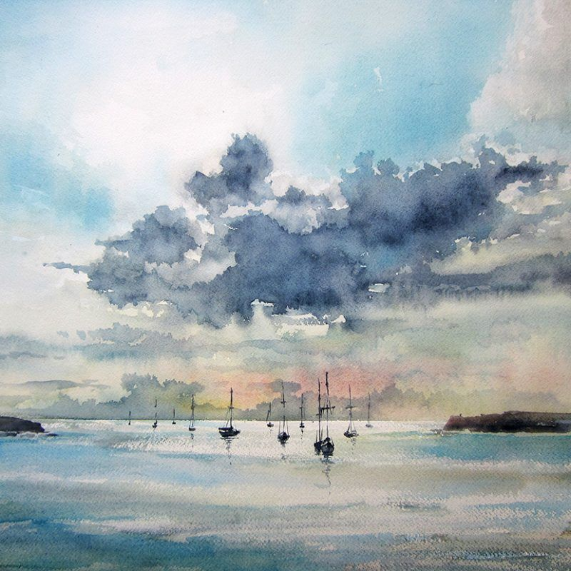 Sydney Harbour In 2020 Watercolor Paintings For Sale Landscape
