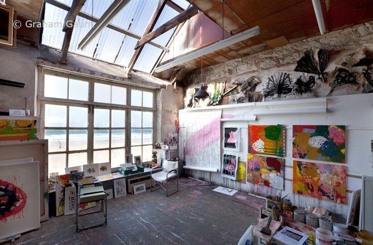20 Ateliers d'Artistes Aux Intérieurs Etonnants