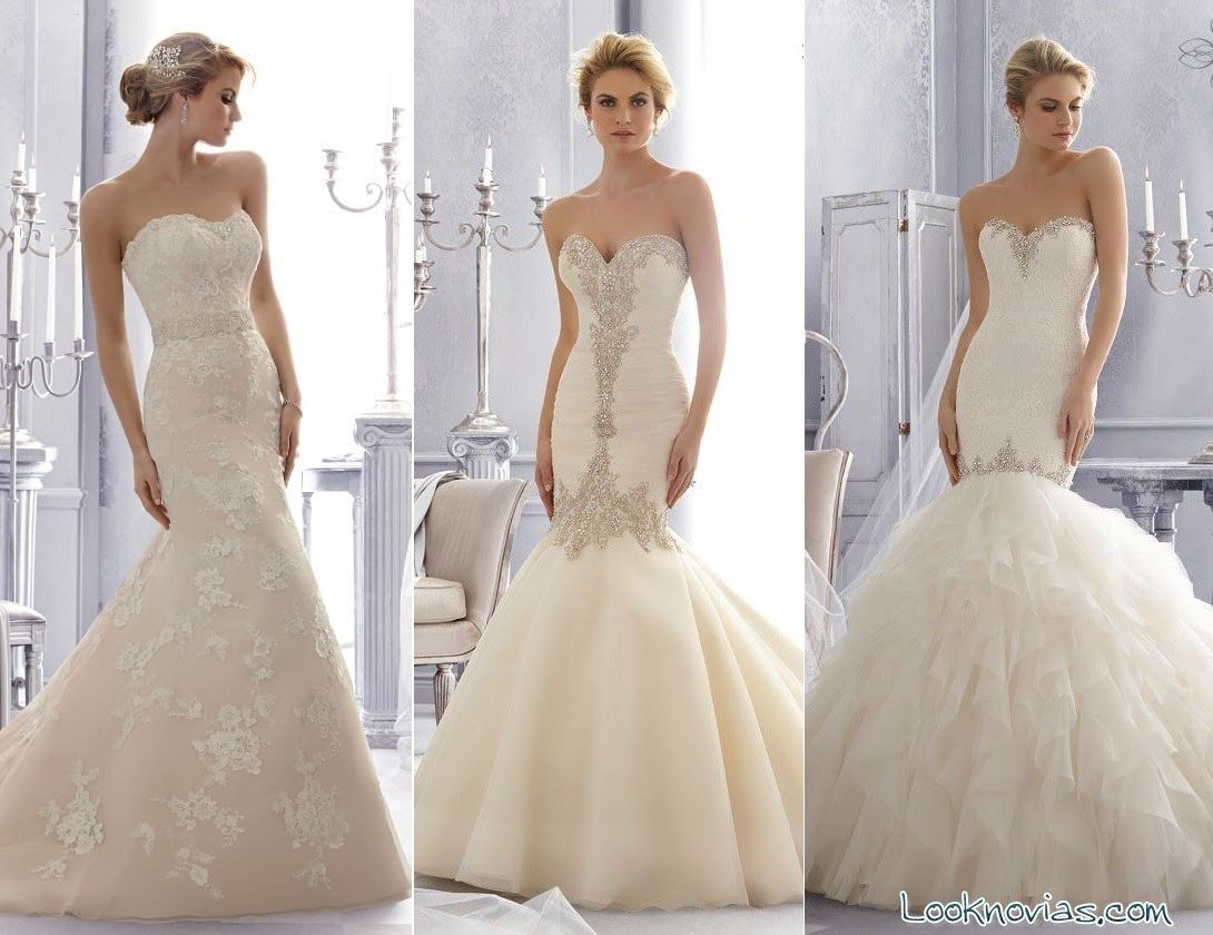 vestidos de novia corte sirena | Vestidos de Novia | Pinterest ...