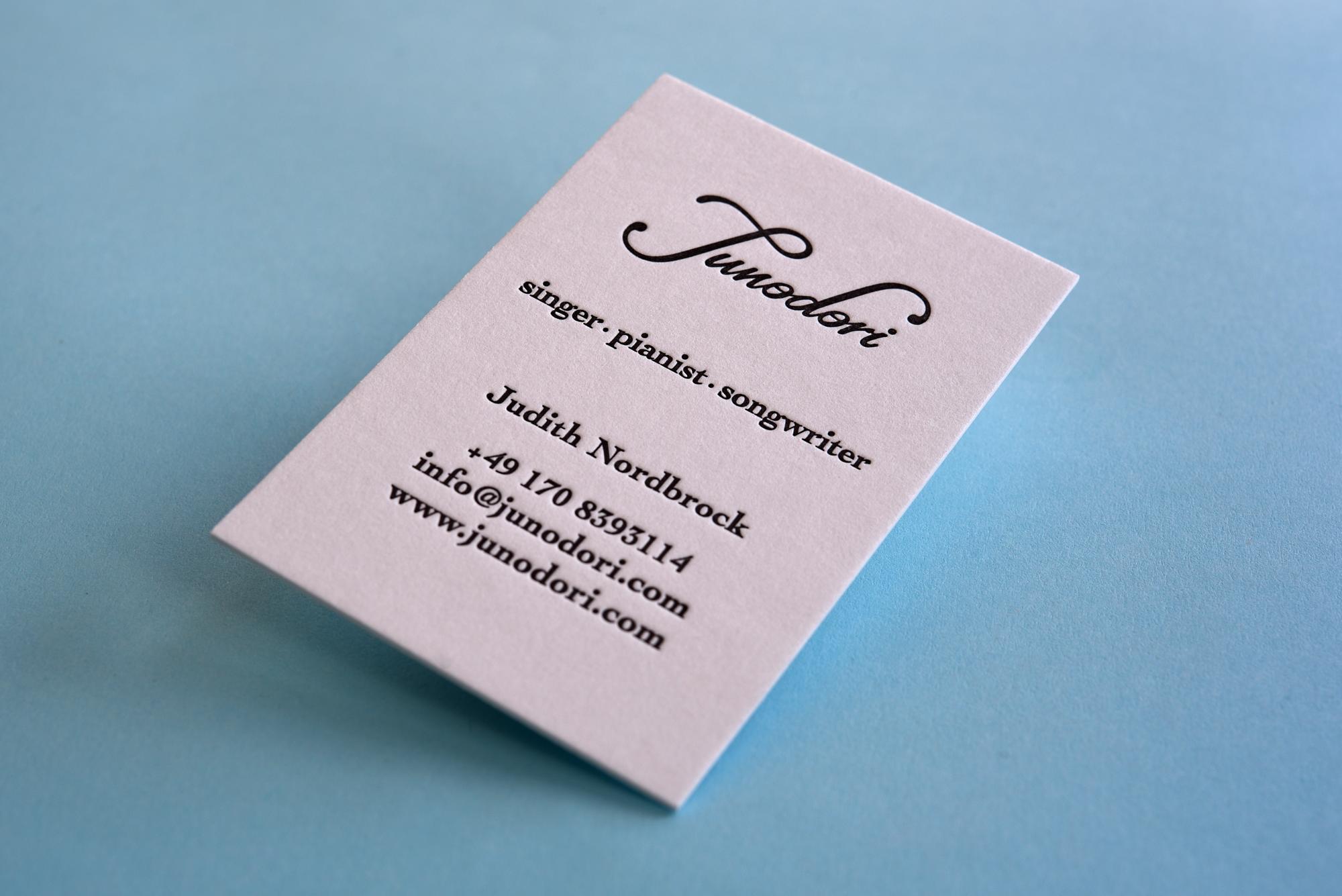 Pin Von Letterpresso Auf Letterpress Visitenkarten