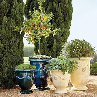 Indoor Planters Planter Frontgate Outdoor Planters 400 x 300