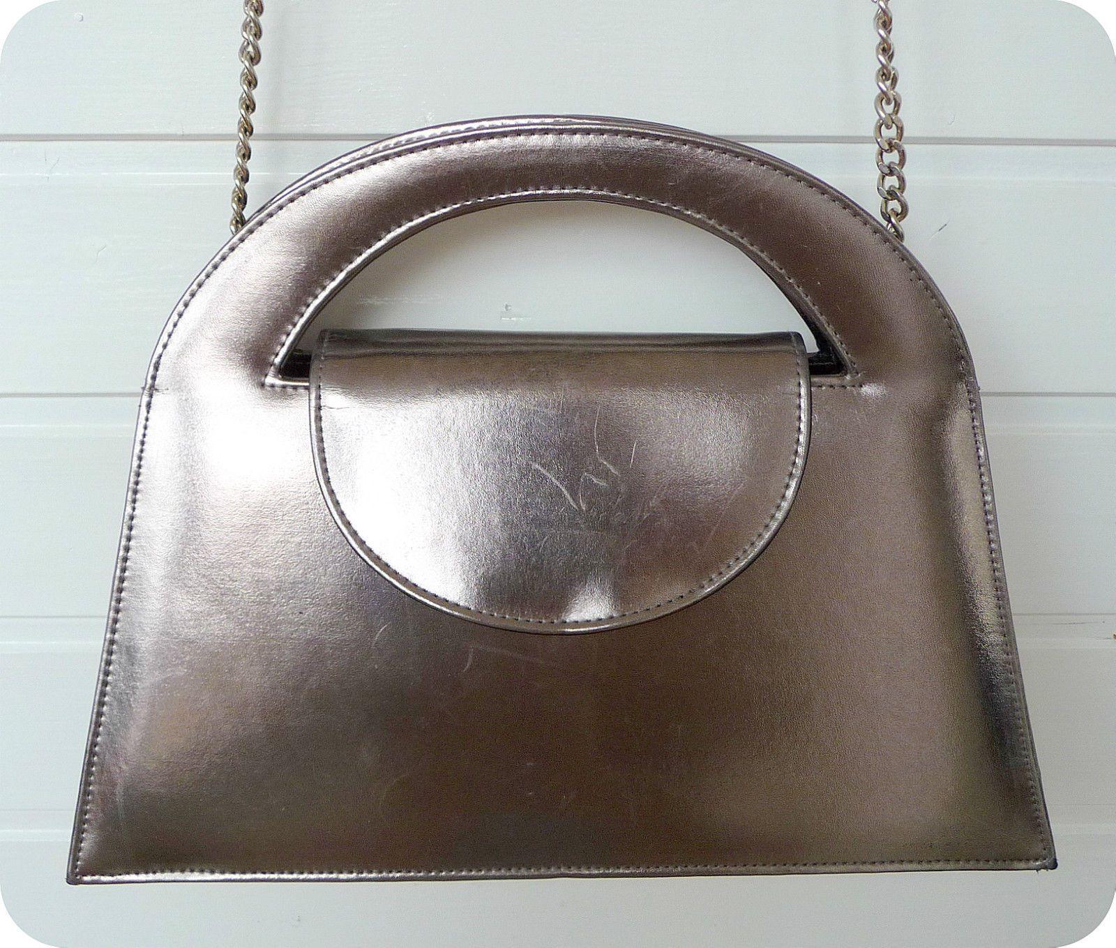 Vintage Abro Unikat Tasche 80er Bag Schultertasche Handtasche