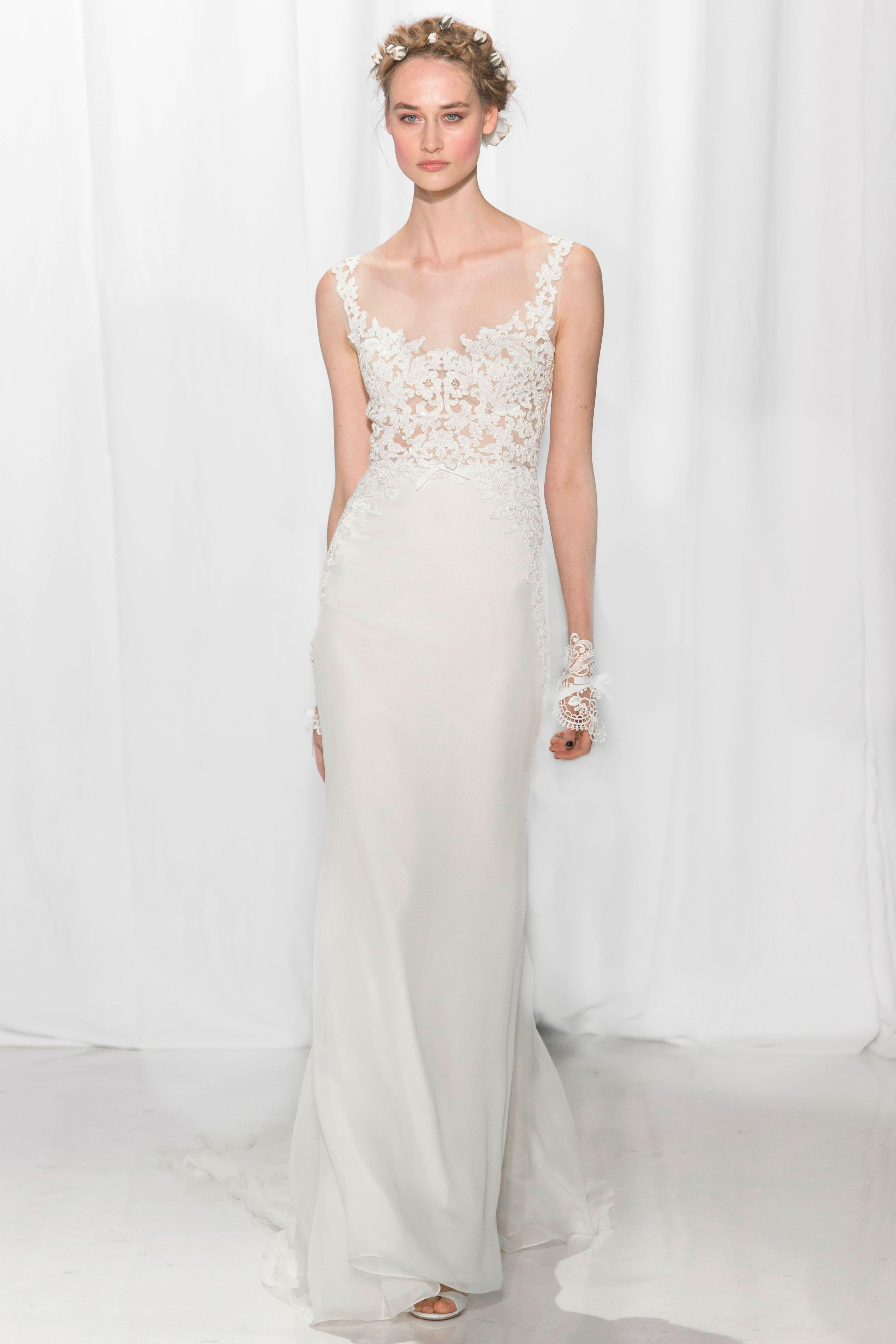 The most stunning fall wedding dresses from bridal fashion week