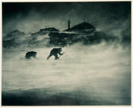Antártida - Frank Hurley, verano de 1911