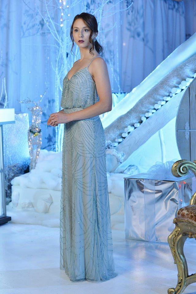 cddd490c32 Spencer #PLL #PrettyLittleLiars Winter dance dress. | AP's Pretty ...