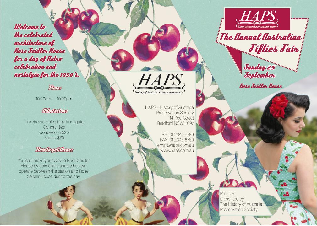 Michelle Cahill: Brochure Design @ www.chinadahlia-arts.com
