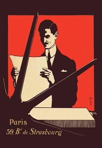 Paris 59 Bd De Strasbourg Vintage Advertisement Canvas Giclee Art Print Display