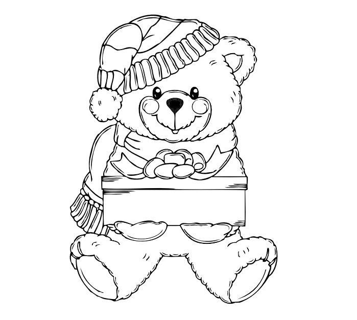 Un Livret De Coloriage Sur Les Fetes Et Les Saisons Bear