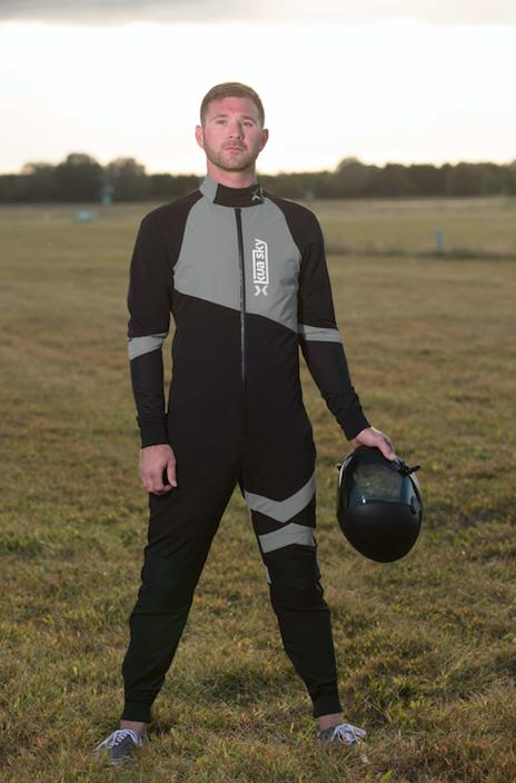 Men S Freefly Suit Grey Kua Sky Skydiving Jumpsuits Jerseys And Gear Skydiving Jumpsuit Suits
