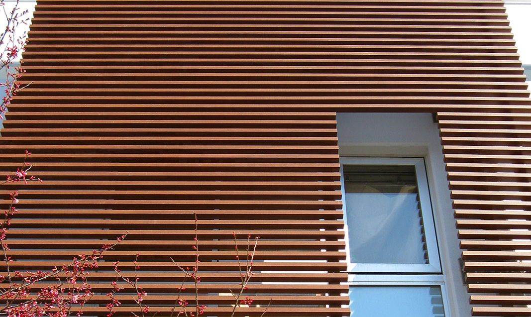 Fortina An Architectural System Of Slats And Louvers Replicating