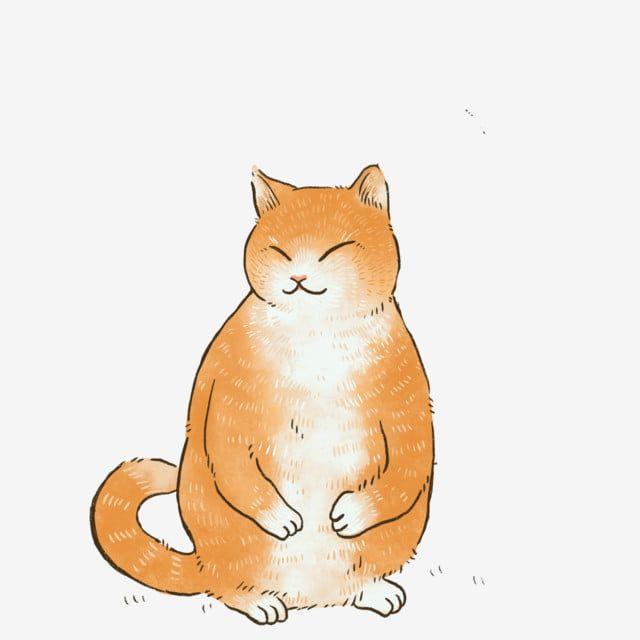 Gambar Kartun Hewan Peliharaan Comel Haiwan Ilustrasi Cat Oren Anak Kucing Png Dan Psd Untuk Muat Turun Percuma Hewan Hewan Peliharaan Kartun
