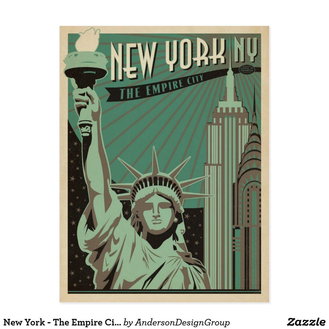 carte postale new york Carte Postale New York   la ville d'empire   Zazzle.fr   Cartes