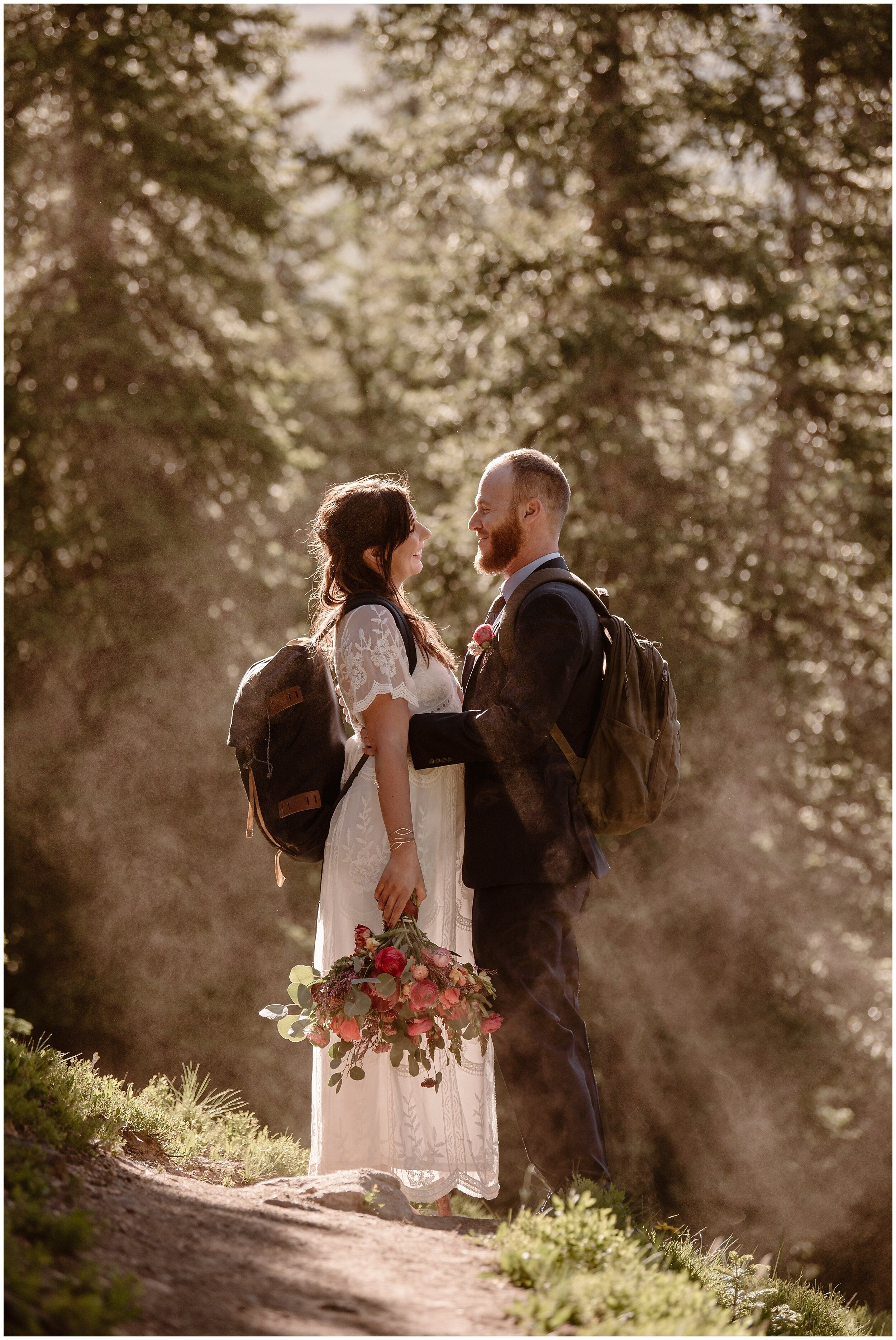 A Groom Holds His Bride Close After Their Elopement Ceremony In One Of The Many Forest Wedding Venues I In 2020 Free Wedding Venues Forest Wedding Venue Wedding Venues