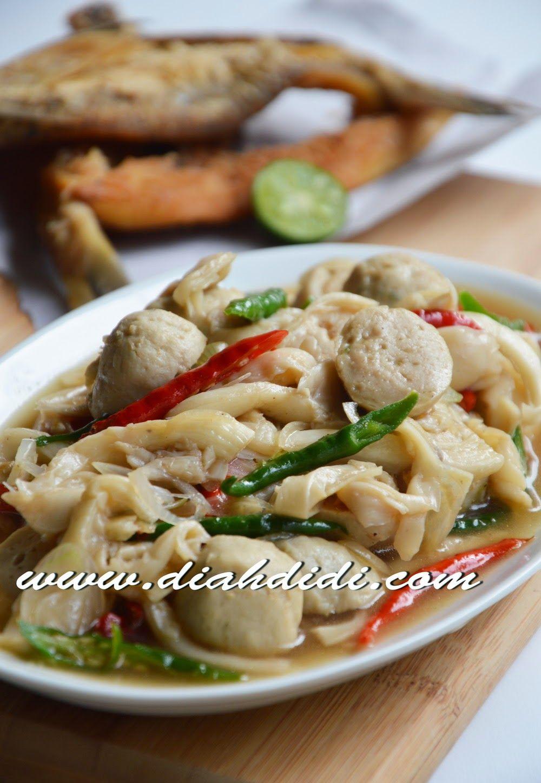 Tumis Jamur Saus Tiram Resep Masakan Resep Makanan Asia Masakan